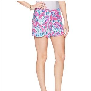 Blue Hazelle Shorts Lilly Pulitzer